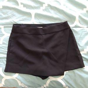 J Crew black skorts skirt-shorts